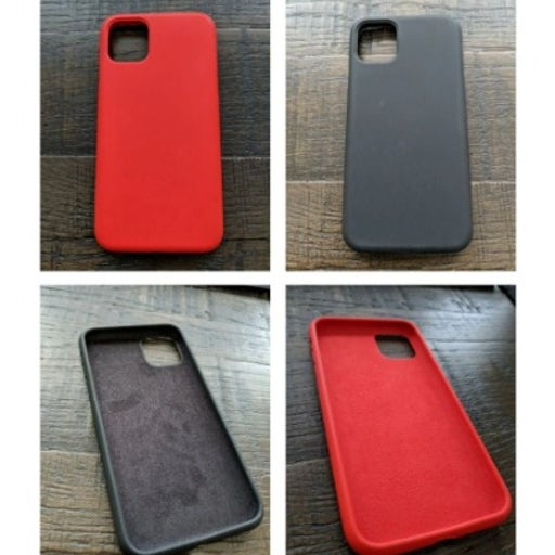 Two iphone 11 pro max silicone cases