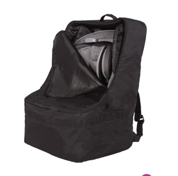 Car seat backback carrier cover