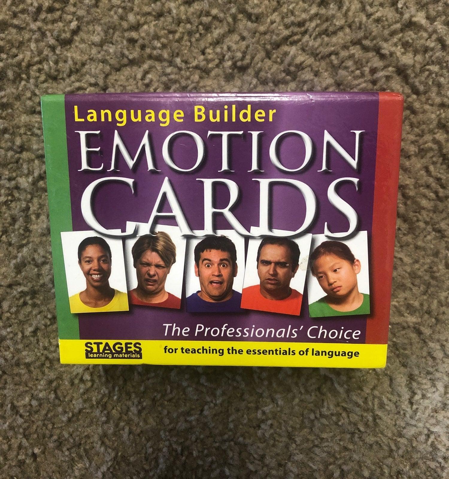 Language Builder 80 Emotion Picture Card