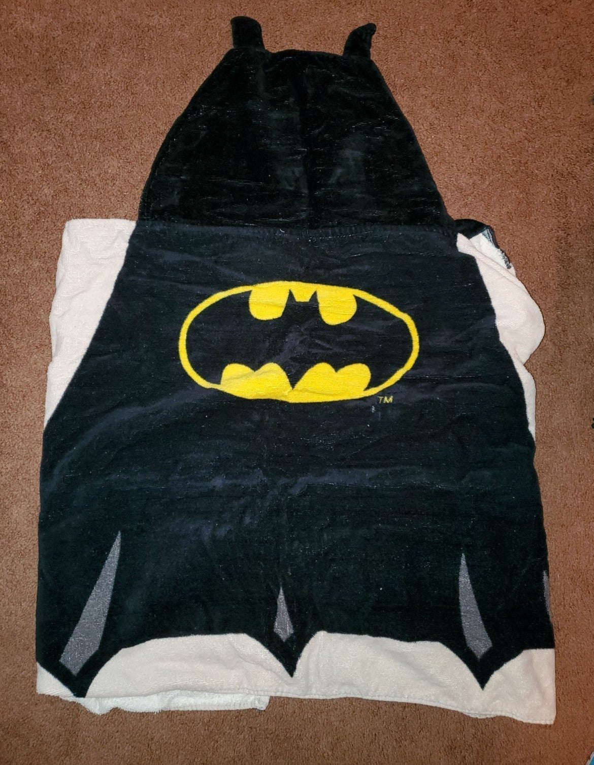 Batman Kids Hooded Towel