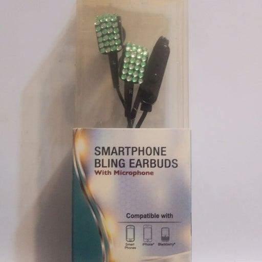 Bling Earbuds / Headphones W Microphone