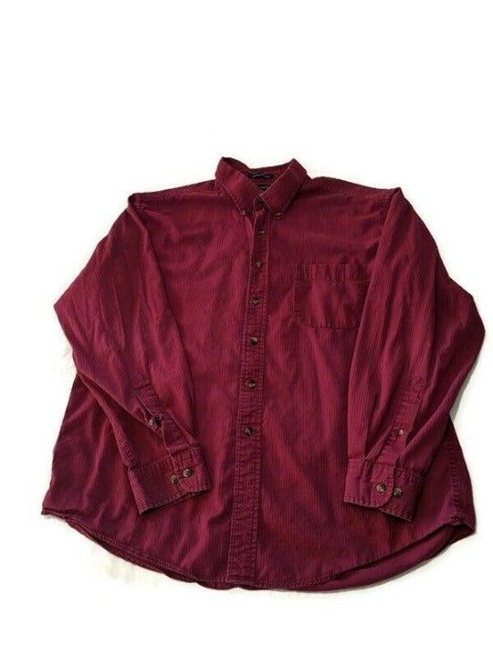 John Ashford Men's Button-up Long Sleeve
