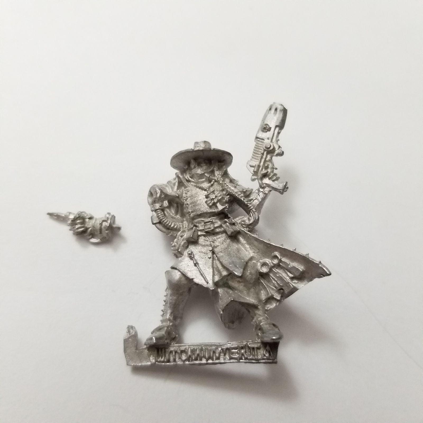 warhammer 40k witchhunter Gideon Lorr