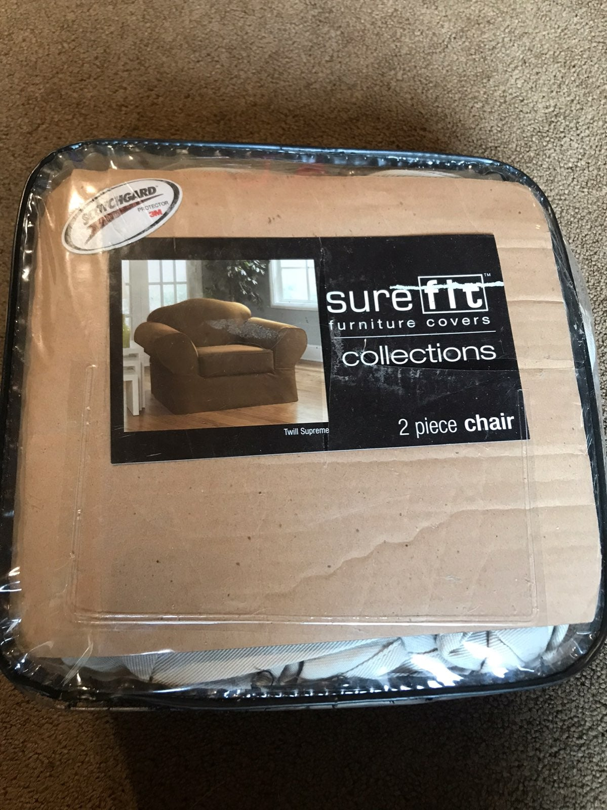 Sure Fit furniture chair cover