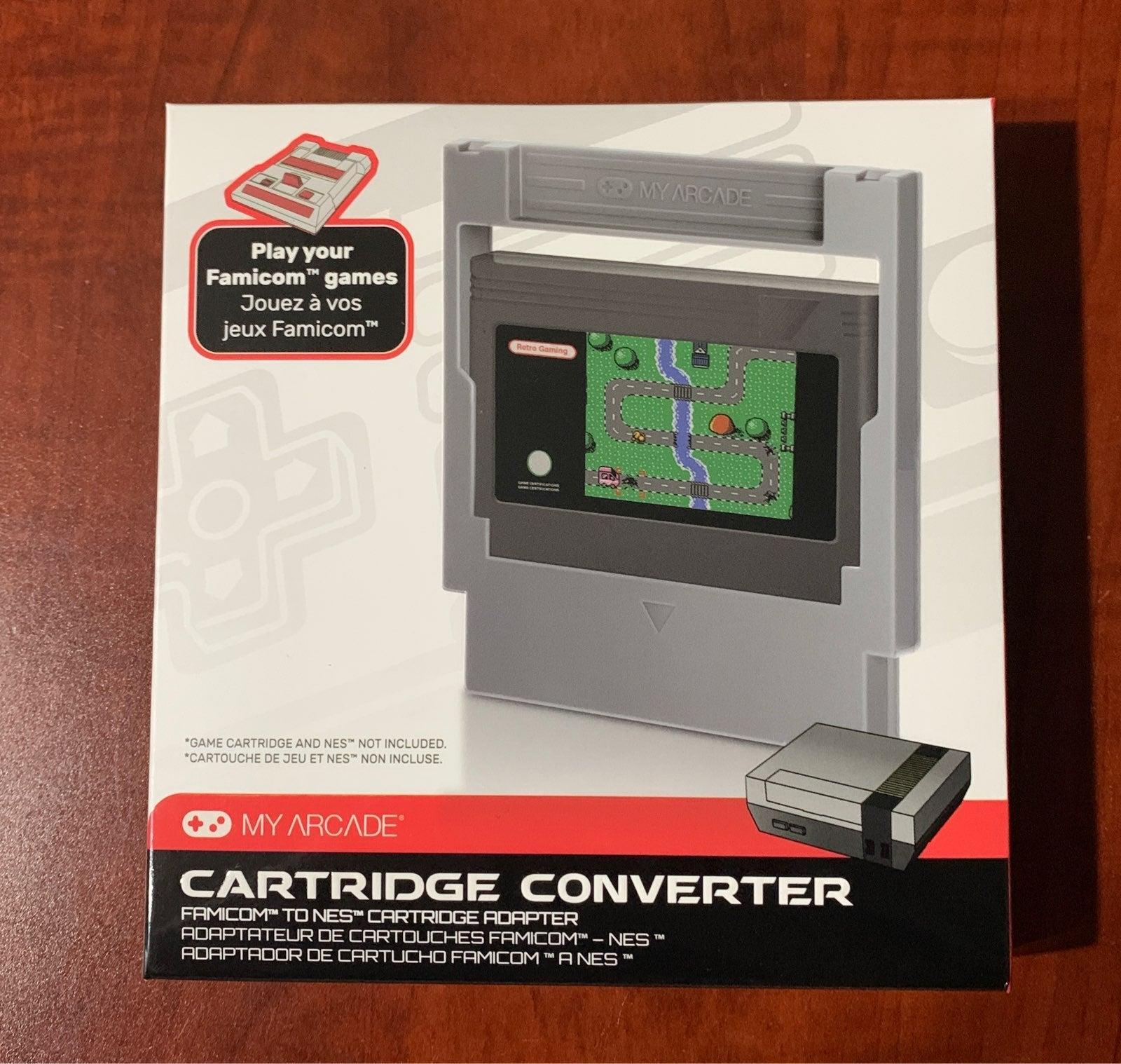 My Arcade Famicom to NES converter