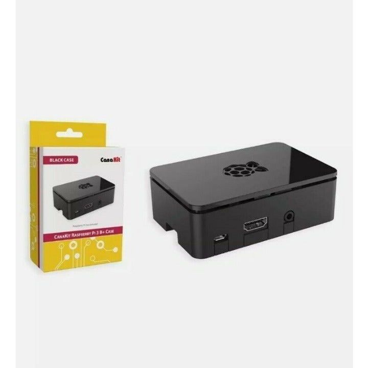 CanaKit Raspberry Pi 3 B+ Case - Black N