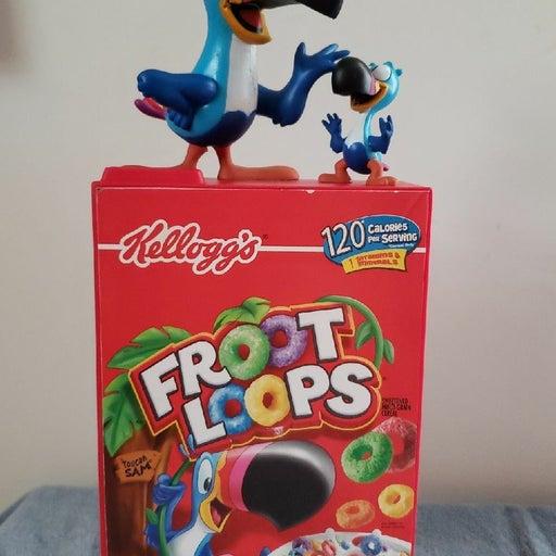 Froot Loops Anniversary Character Bank