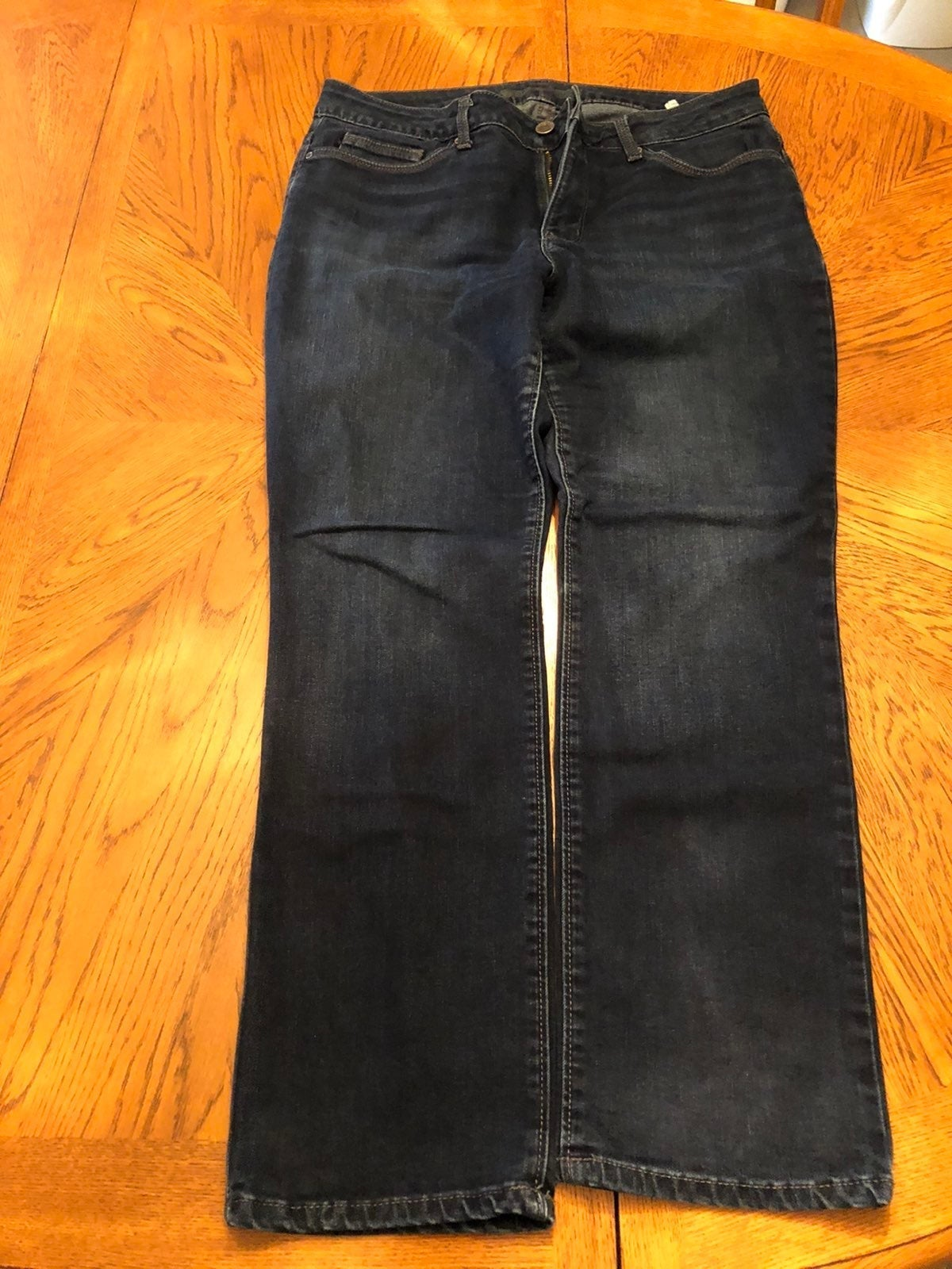 Jeans women lee curvy fit size 14 short