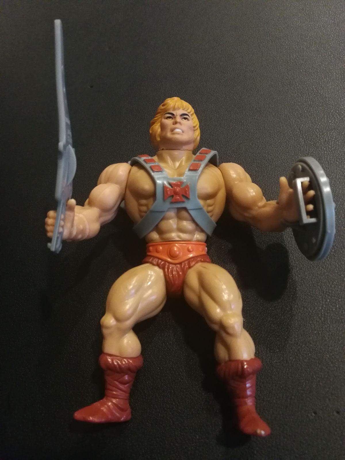 MOTU He-Man Action Figure Complete