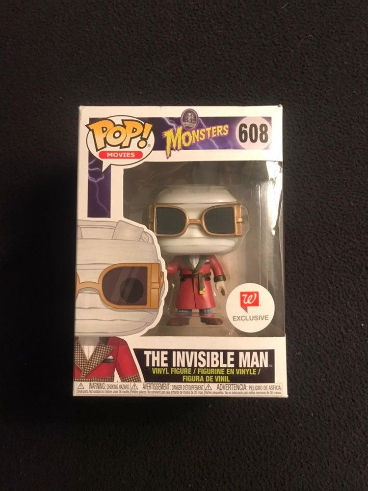 The Invisible Man Funko Pop