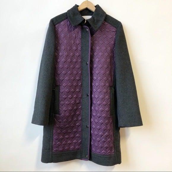 NWT Per se by Carlisle Racquel Wool Coat