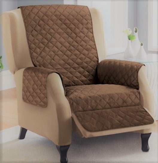 Recliner Chair Cover Quilted/padded