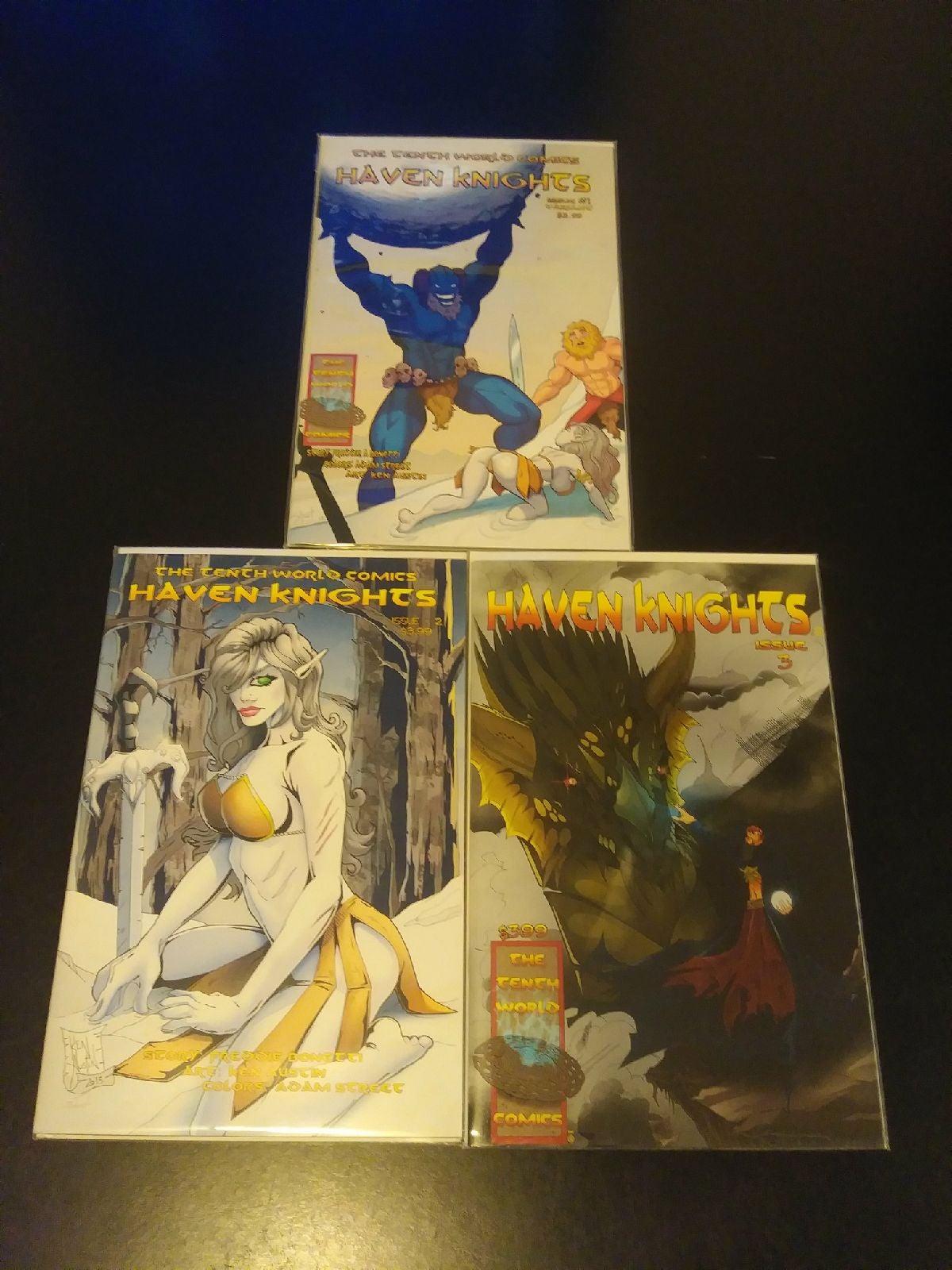 Haven Knights Comic Book Bundle