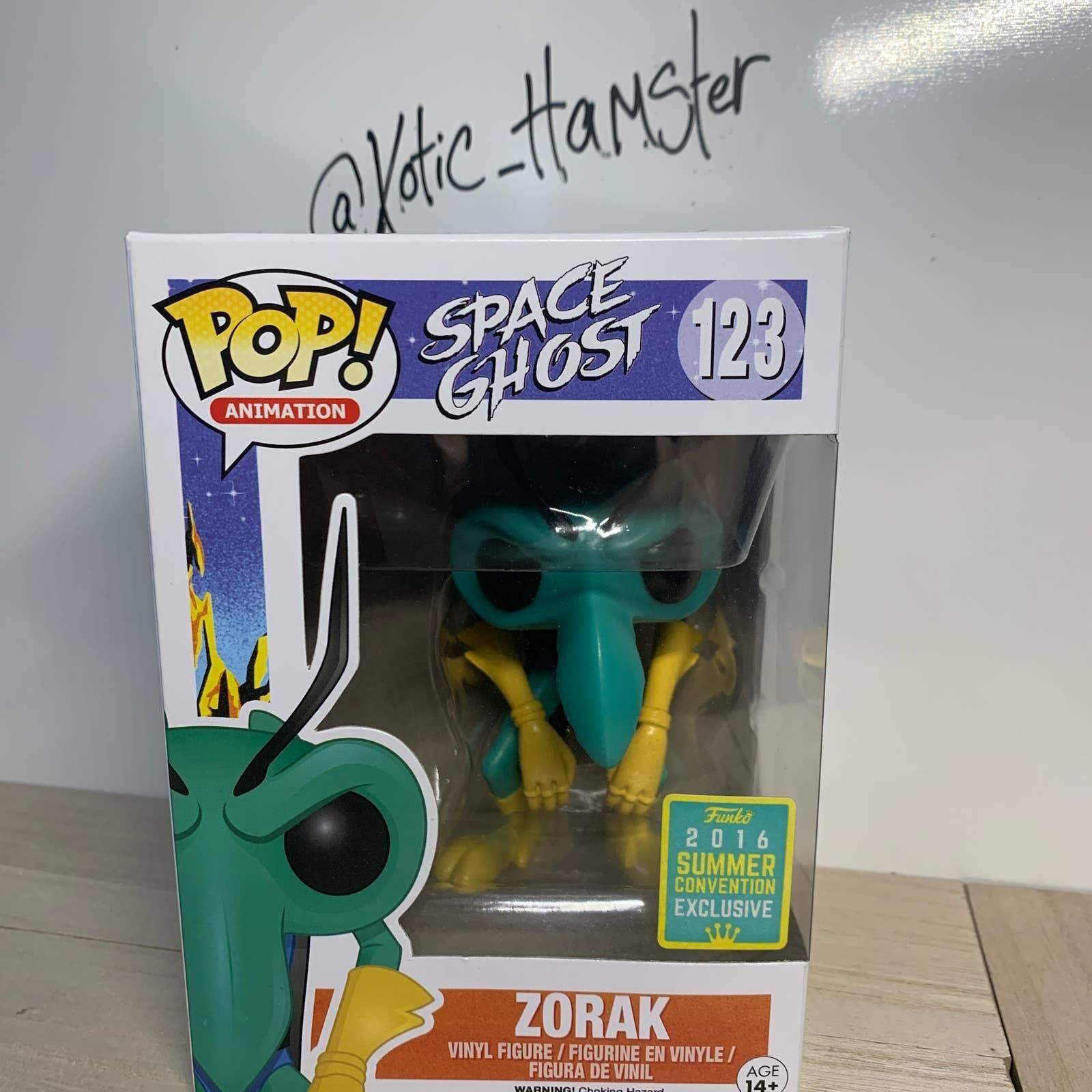 Funko Pop Zorac Space Ghost SDCC