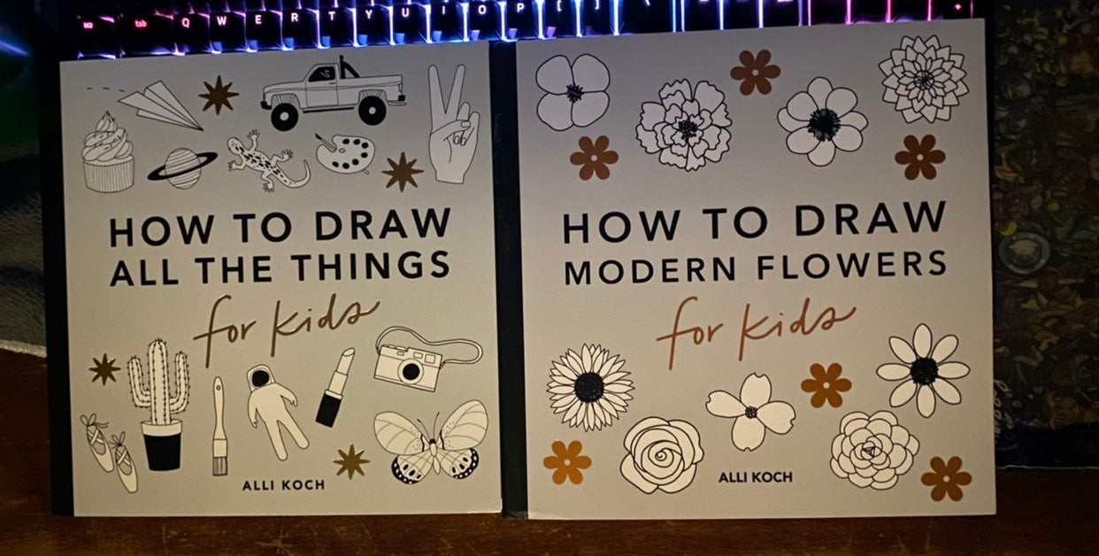 Children's How To Draw / Coloring Books