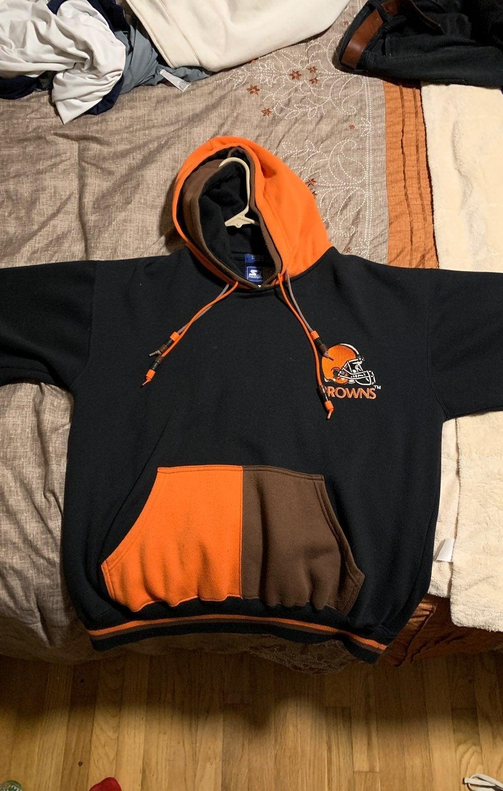 VTG browns 90s Starter double hoodie