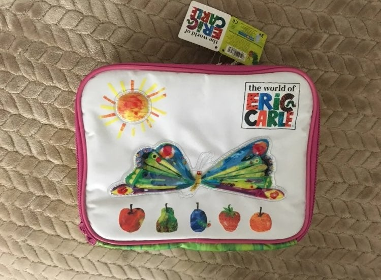 Eric Carle butterfly insulated lunch bag