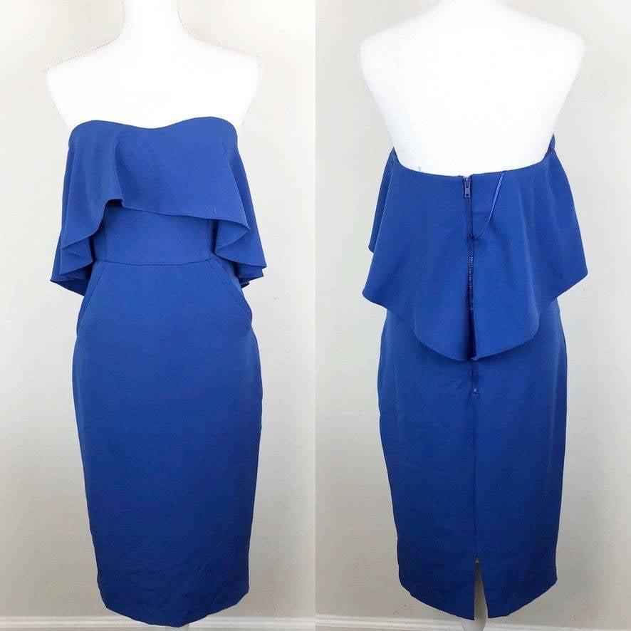 Chelsea28 Strapless Pencil Dress
