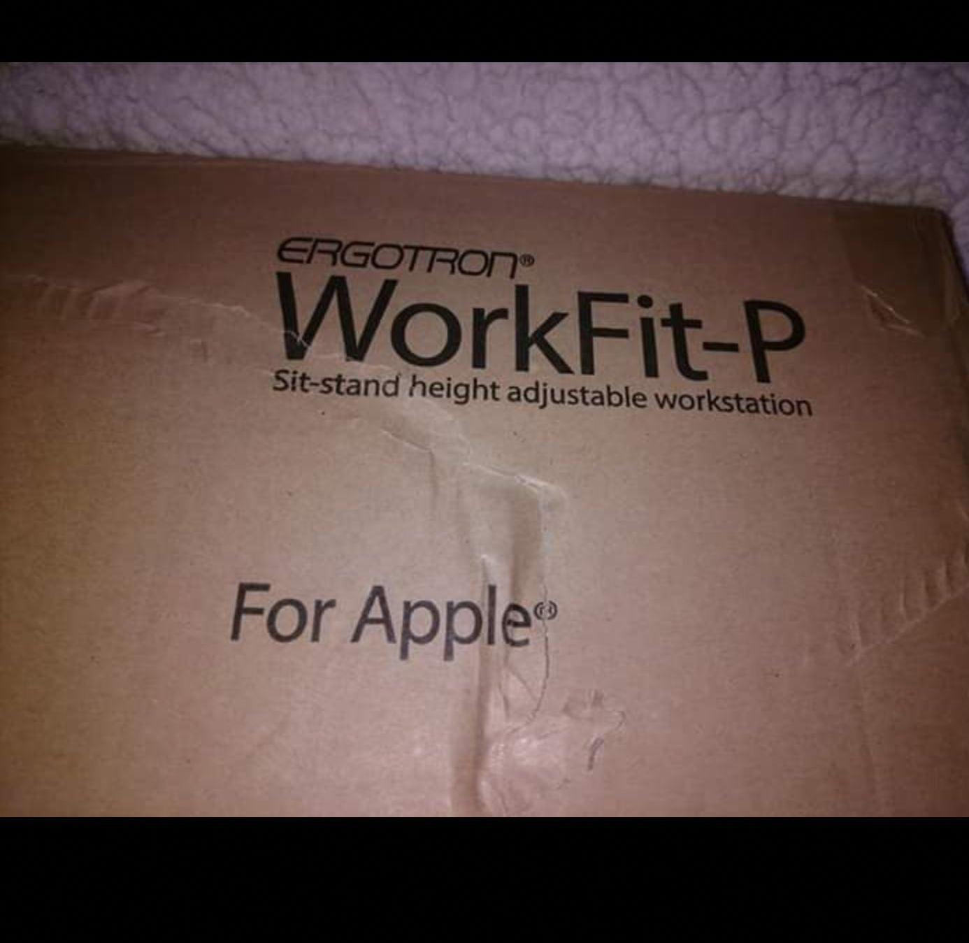 Ergotron Workfit-P New Other
