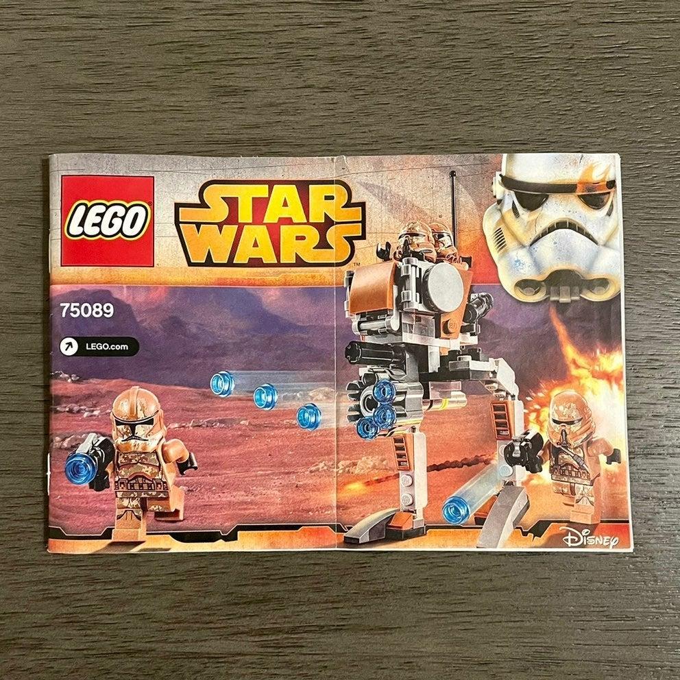 Lego Star Wars Geonosis Troopers Manual