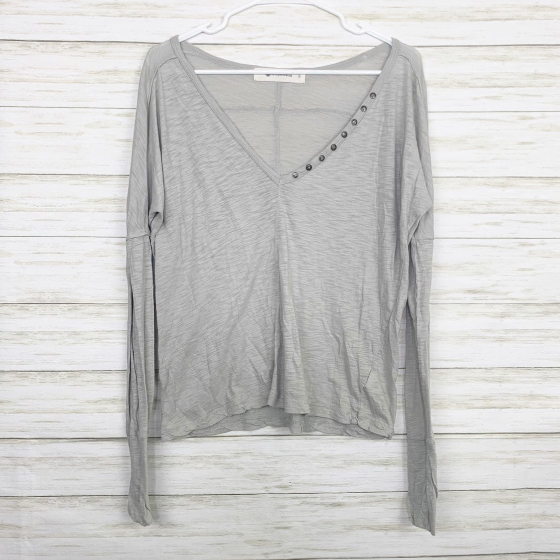 The Impeccable Pig | Grey V Neck Tee