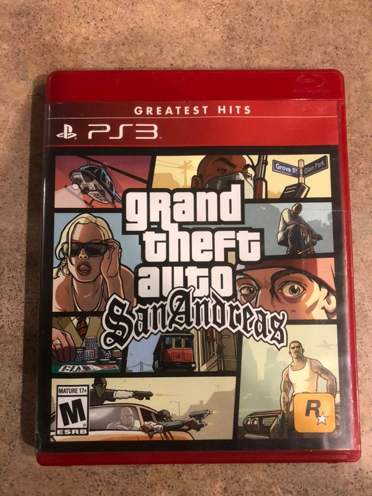 Grand Theft Auto: San Andreas on PS3