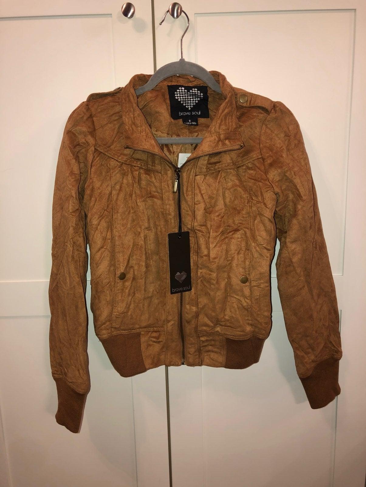 Suede jacket NWT