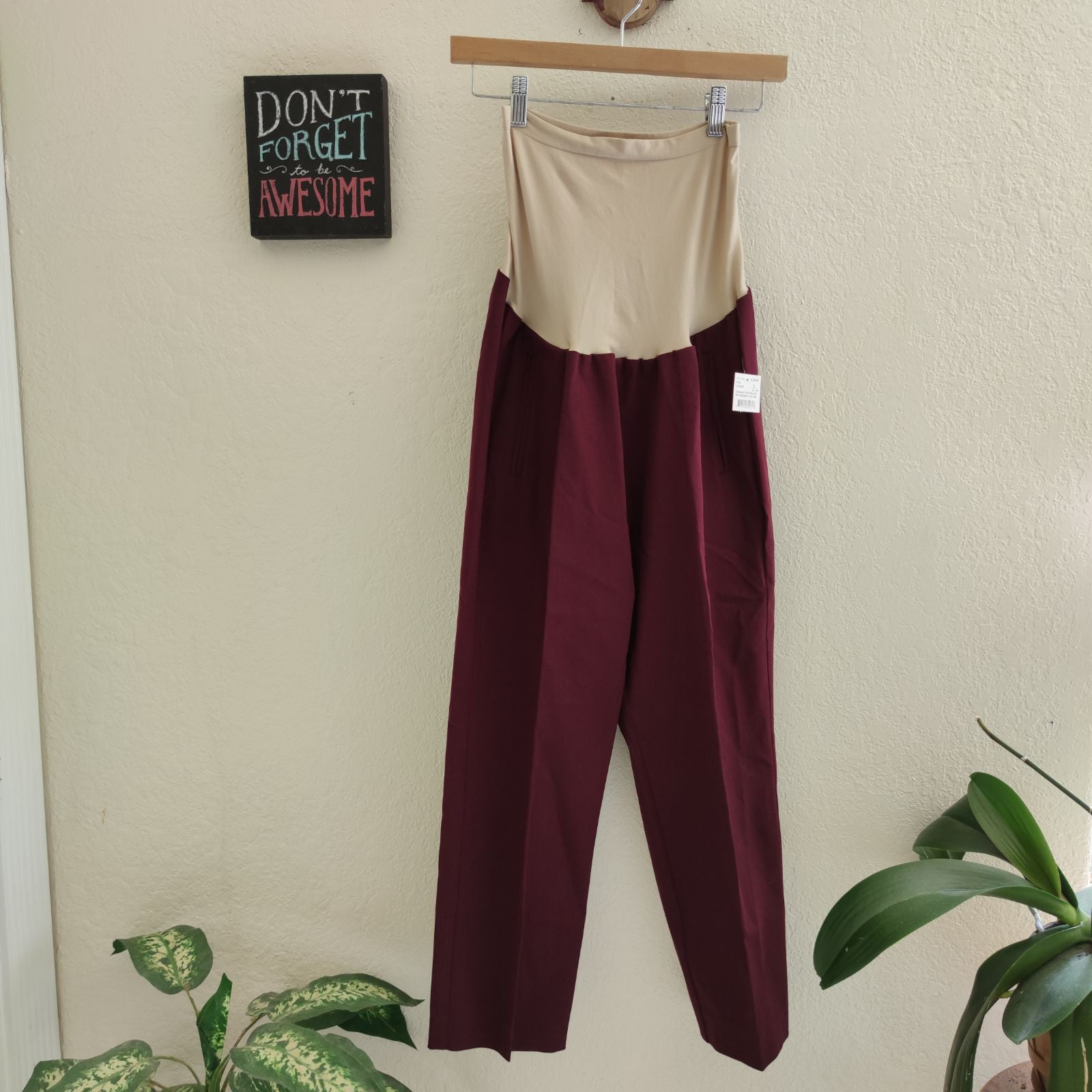 Pea In Pod • NEW Maternity Pants Crops