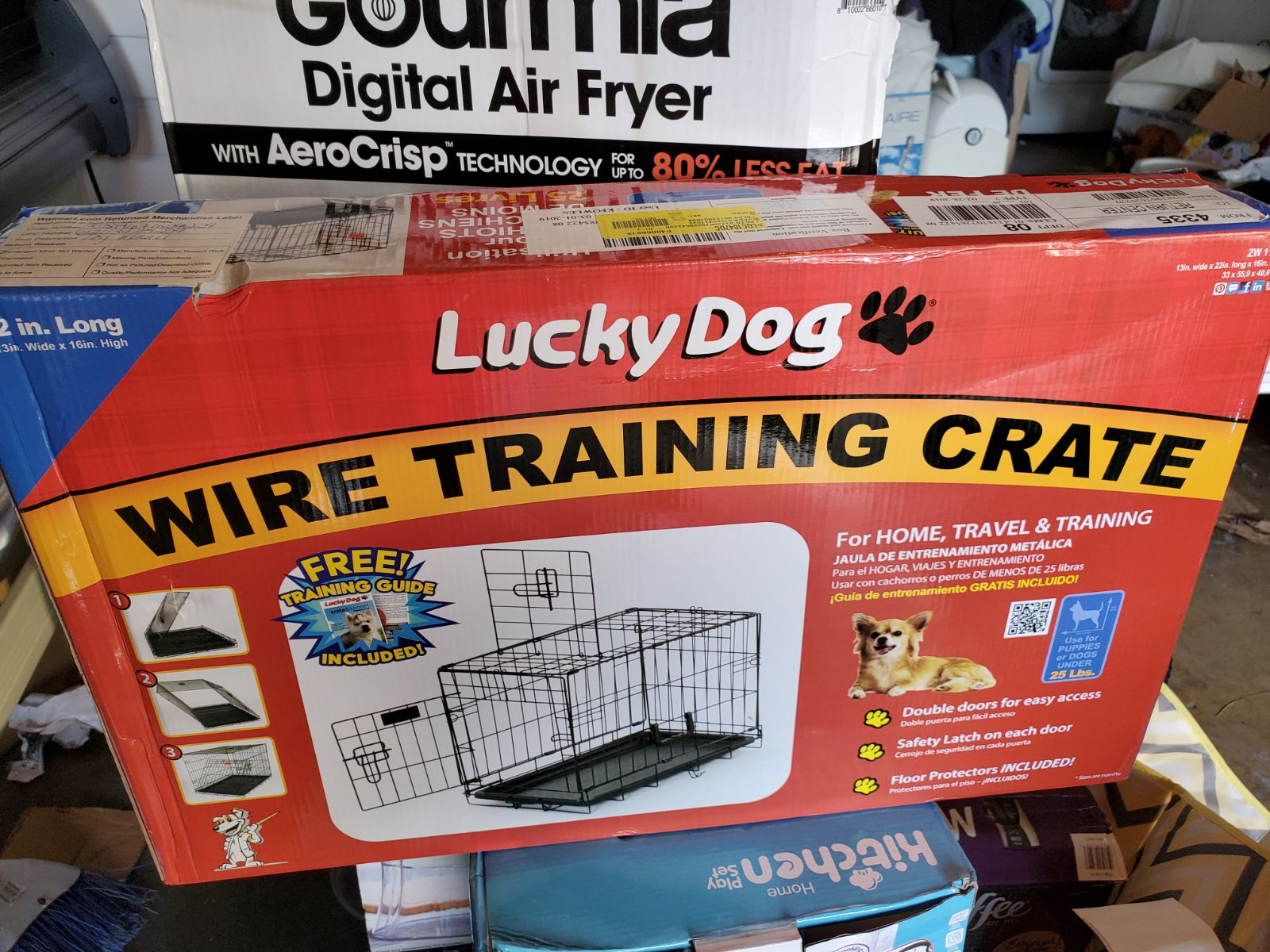 New in box-Lucky Dog Wire Training Crate