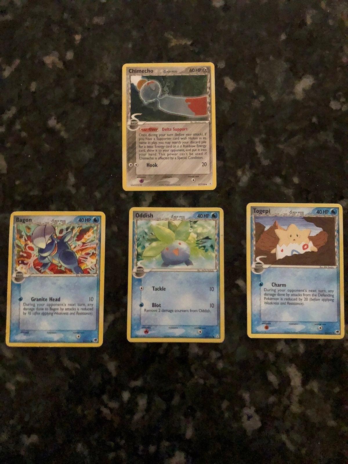 Lot of Delta Species Pokemon Cards