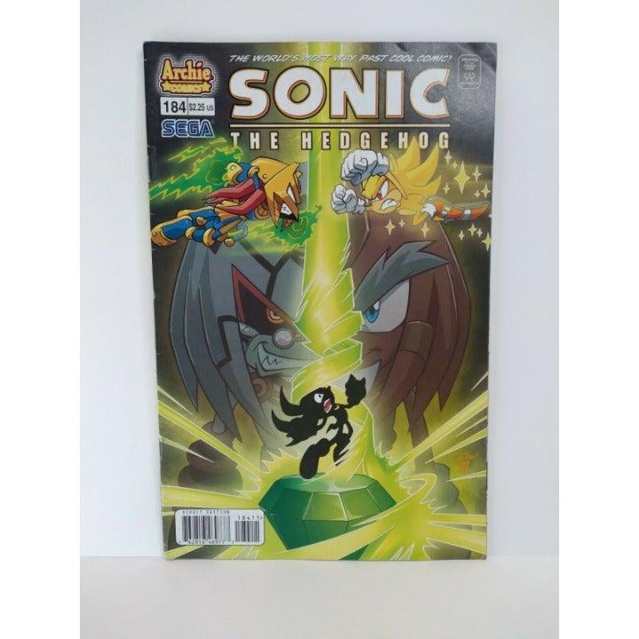 #184 SONIC The HEDGEHOG Comic Book