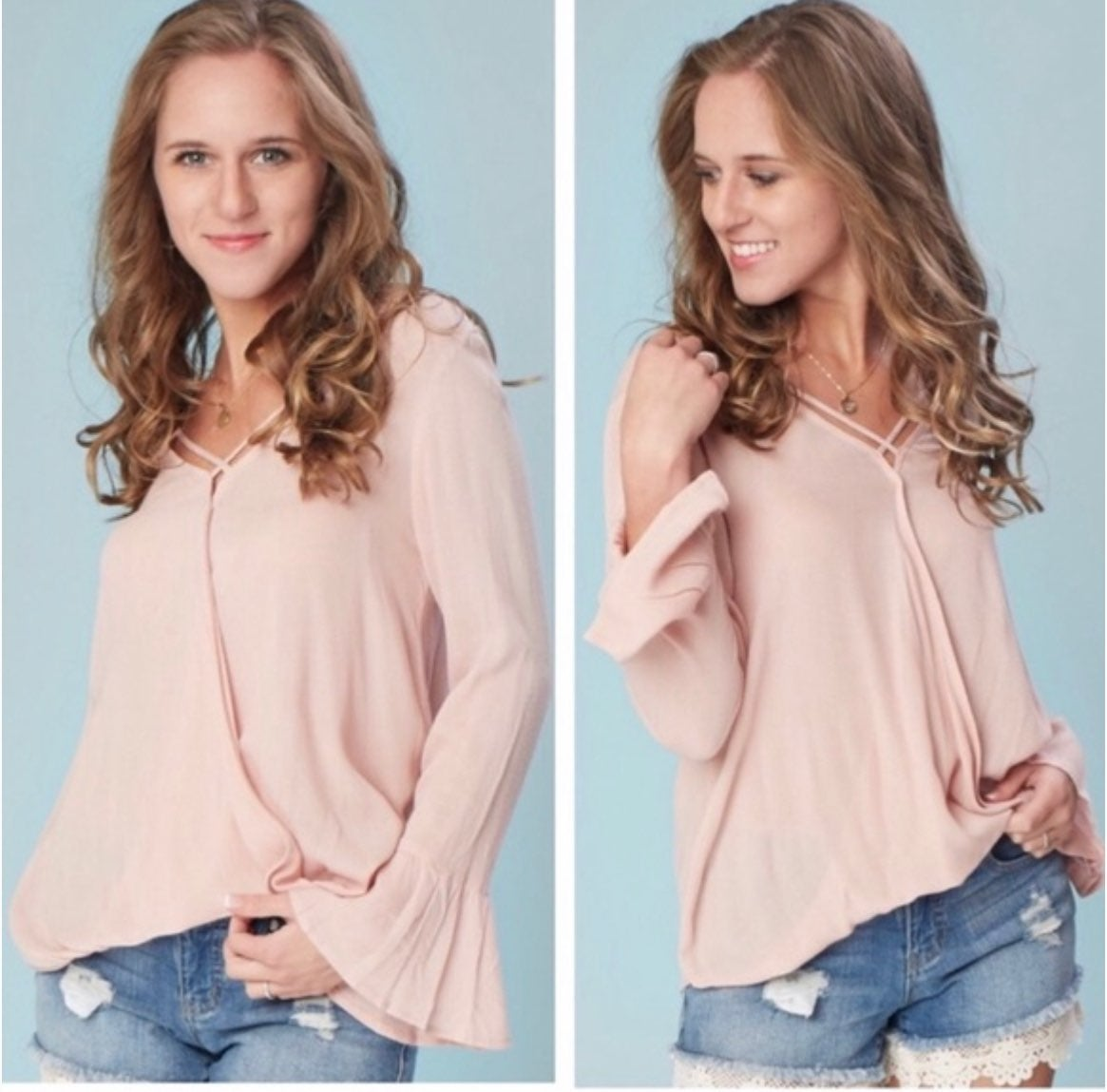NWT Altar'd State L Vilano Long Sleeve T
