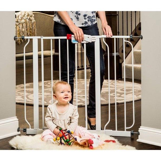 38.5-Inch Extra Wide Walk Thru Baby Gate