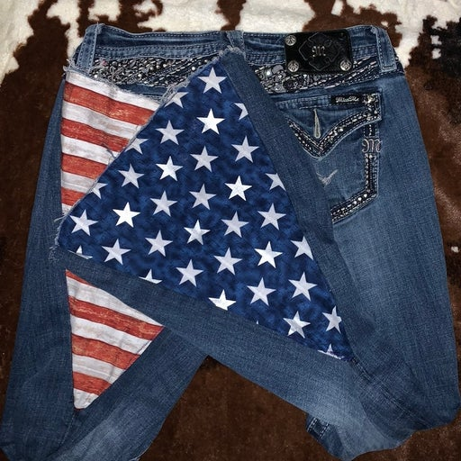 Customized bell bottoms