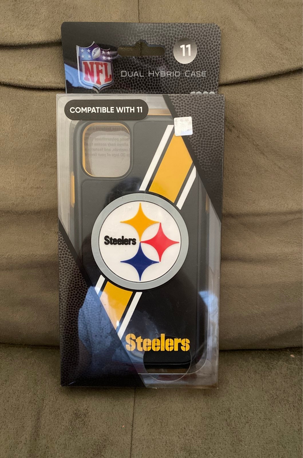 NFL Steelers iphone 11 case