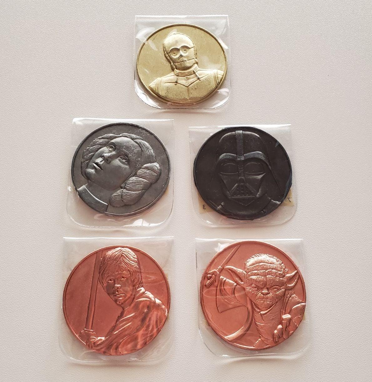 Star Wars Collectible Coins Bundle
