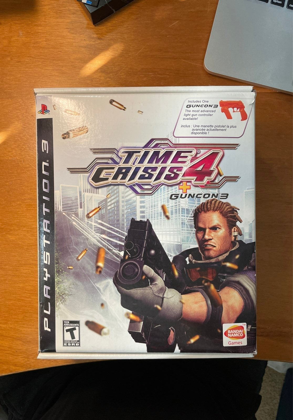 Time Crisis 4 and Razing storm ps3