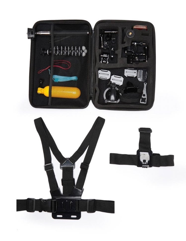 26 Piece Acc. Kit For Action Camera