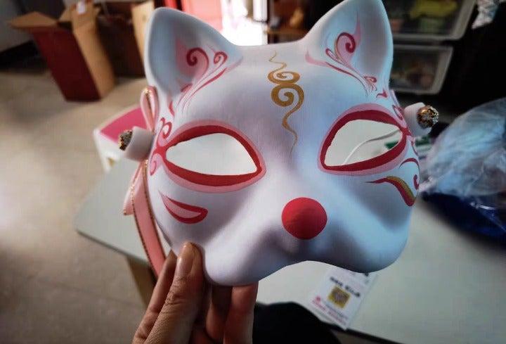 The fox mask