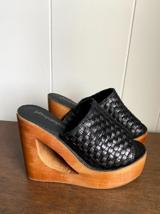 Jeffrey Campbell Comeback Wooden Wedges
