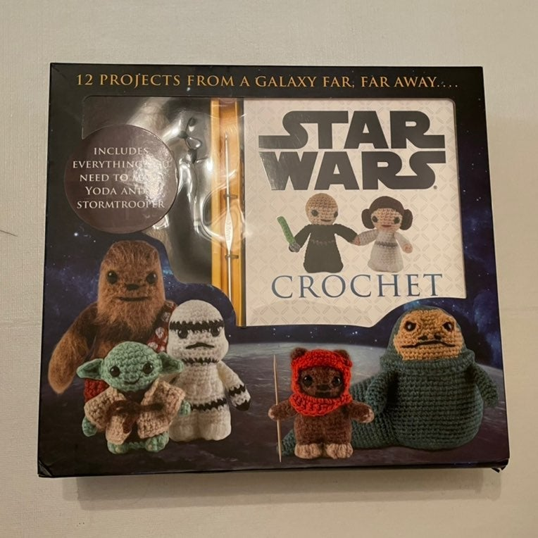 Star Wars Crochet Kit New Gift Set
