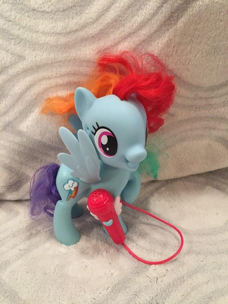 My Little Pony Sngng Rainbow Dash w/Micr