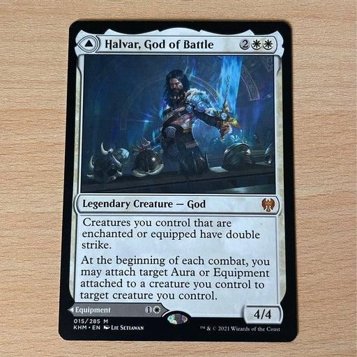 MTG Halvar, God of Battle