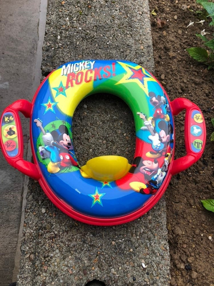 Mickey Mouse Potty Seat