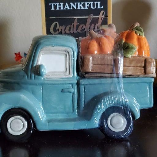 Fall Ceramic Farmhouse Ceramic Truck NEW
