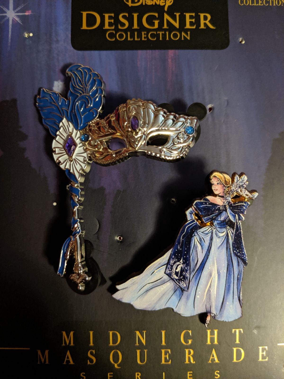 LE Cinderella Masquerade Disney Pin