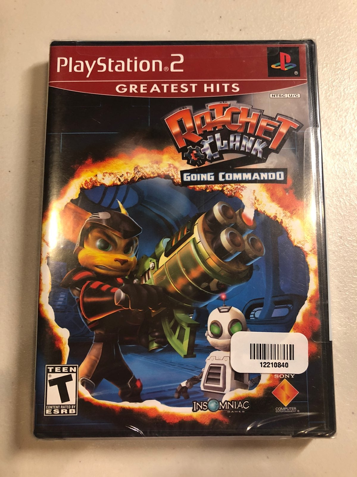 NEW Ratchet and Clank GREATEST HITS PS2