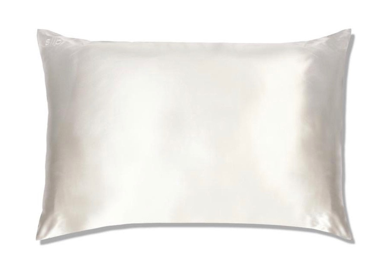 Slip Silk Pillowcase White Queen