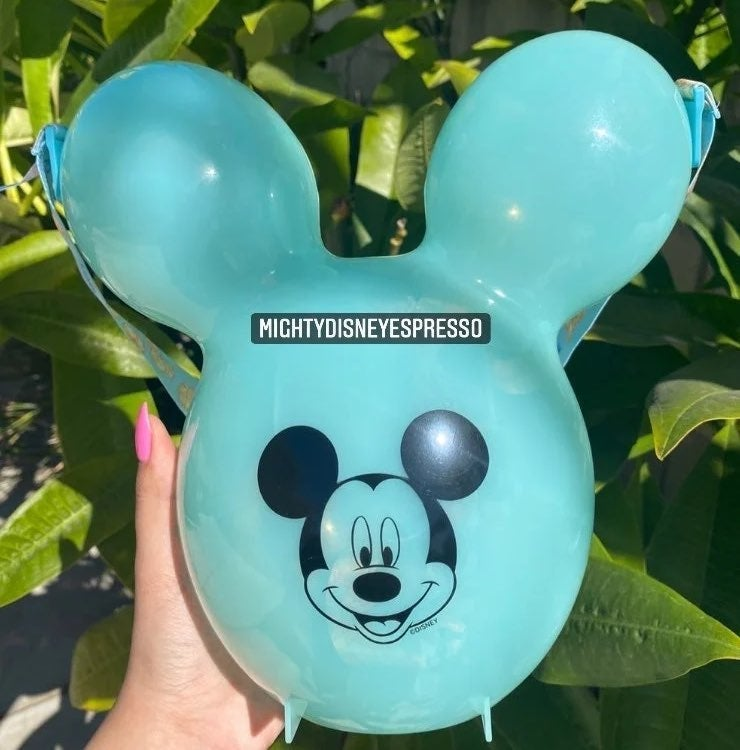 Disney Tiffany Blue Balloon popcorn buck