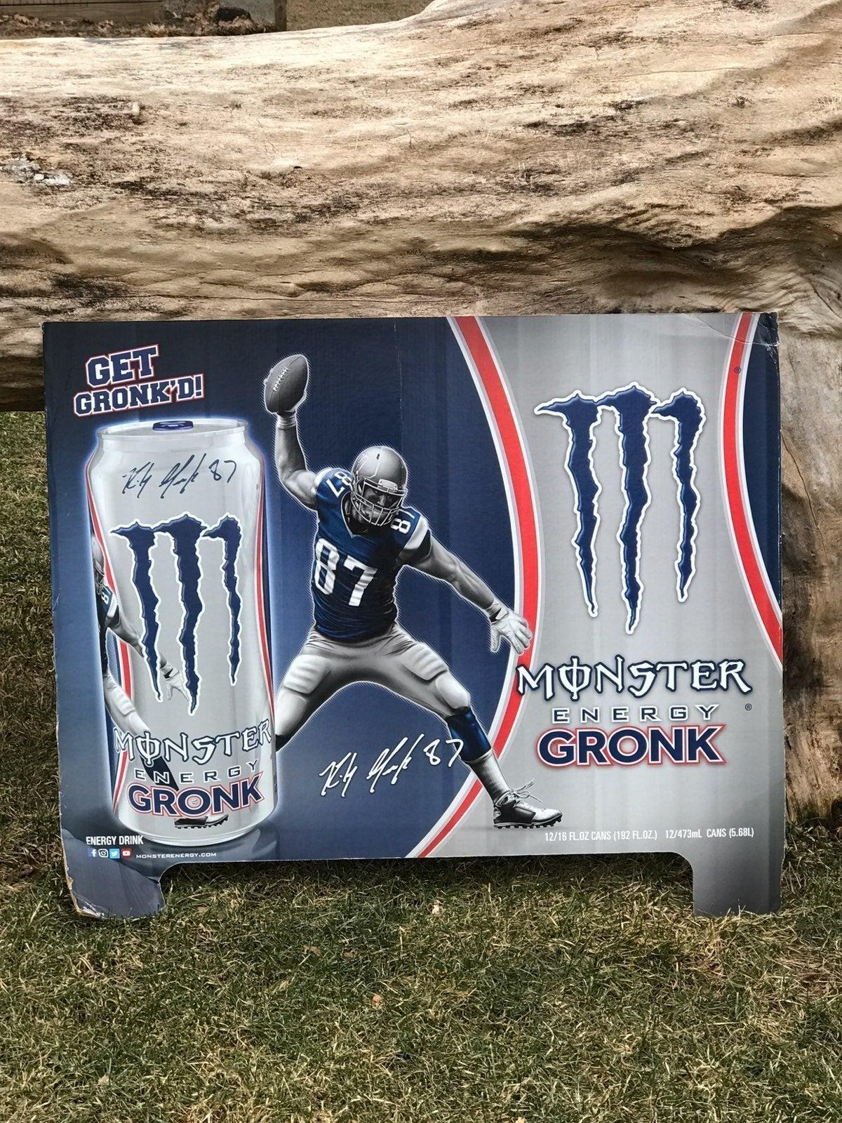 Monster Energy Gronk Poster Board
